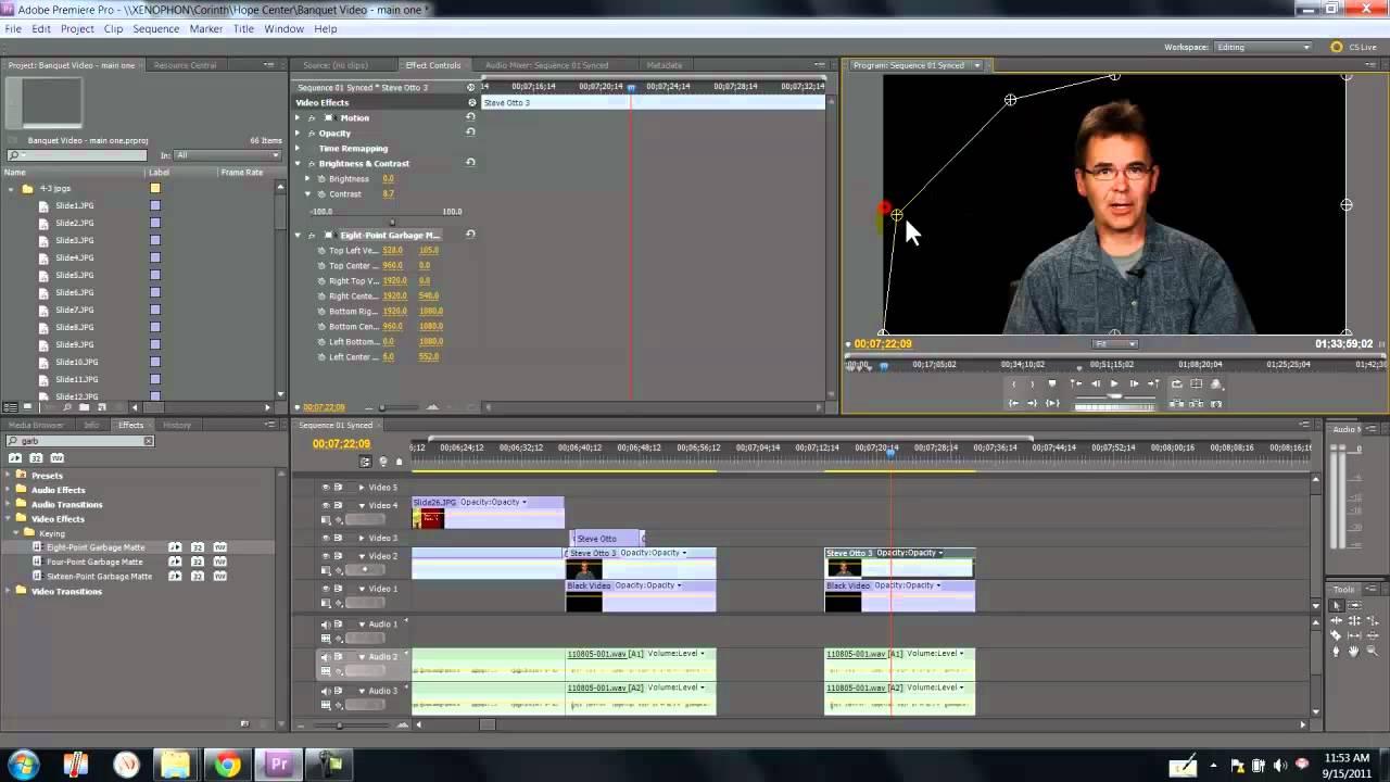 Garbage Matte tutorial | Adobe Premiere - YouTube