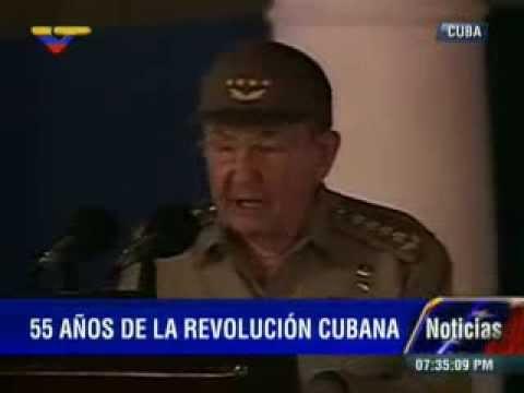 Discurso de Raúl Castro en Santiago de Cuba el 1 de enero de 2014