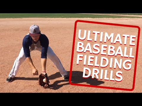 Ultimate Baseball Fielding Drills (HD)