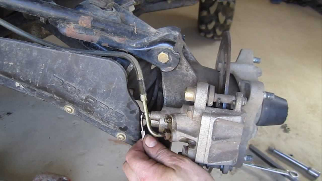 How To Change Pads On A  Arctic Cat Snowmobile