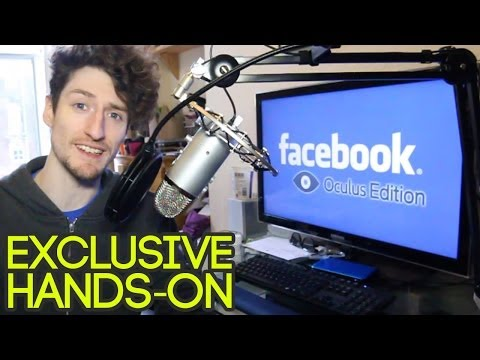 Oculus Rift Facebook Edition: Hands-on with Matt Lees