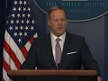 Sean Spicer Holds First Formal Press Briefing