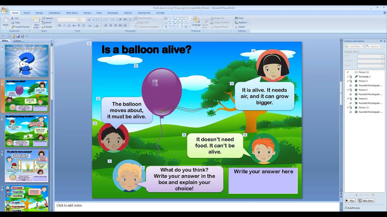 PowerPoint  - 15 Ways it can be used in the classroom