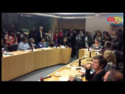 AVANT GOUT: CONFÉRENCE DE PRESSE DE Dr. DENIS MUKWEGE AU PARLEMENT EUROPÉEN