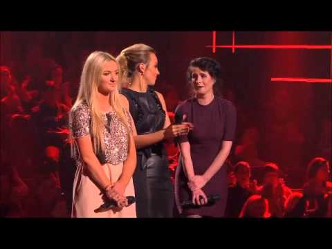 Sarah Harding and Bressie - The Voice Ireland