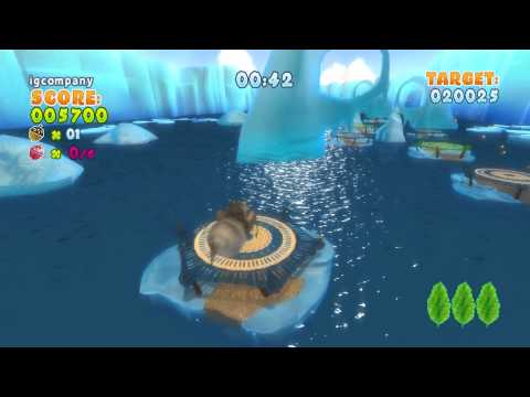 Ice Age 4 Continental Drift Gameplay Event 9 HD