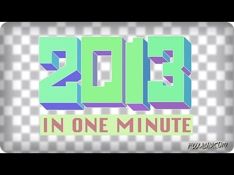 2013 IN ONE MINUTE | ANIMATION DOMINATION HIGH-DEF