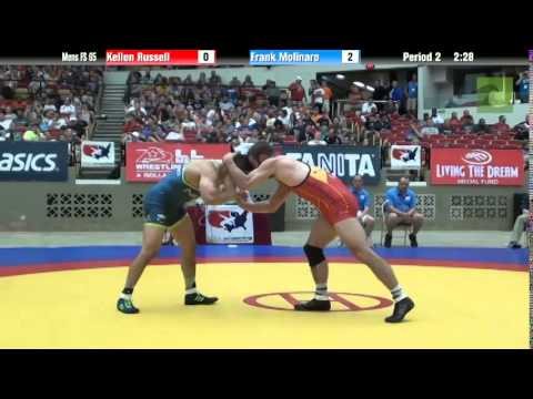 65 KG - Kellen Russell vs. Frank Molinaro