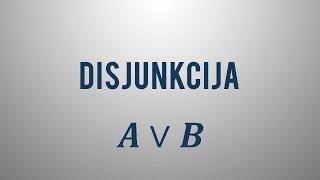 Disjunkcija
