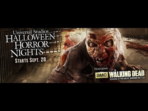 AMC's The Walking Dead is back at Halloween Horror Nights 2013, ....and you thought it was over. AMC's The Walking Dead returns to Halloween Horror Nights 2013 at Universal Studios Hollywood and Universal Orlando Resort w...