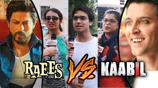 Public REACTION - Raees Vs Kaabil