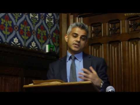Breaking the Glass Ceiling - Rt Hon Sadiq Khan MP