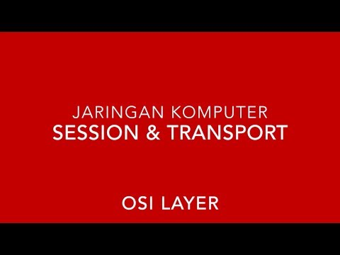 Model OSI (Session layer & Transport layer)