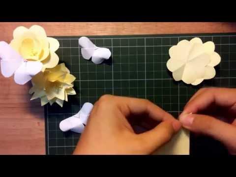 [Handmade] Hướng dẫn làm hoa giấy từ giấy nhớ | Đơn giản + đẹp