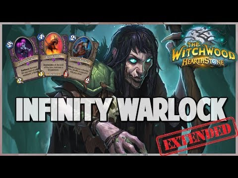 Infinity Warlock | Extended Gameplay | Hearthstone | The Witchwood