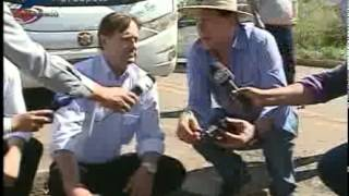 Jornalismo - Senadores vão a Rondônia verificar situação das obras na BR-364 - Reprodução