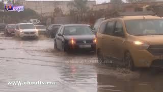 غريب و بالفيديو...شوفو الأمطار آش دارت فسيدي الطيبي نواحي العاصمة الرباط |
