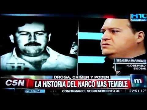 El hijo de Pablo Escobar Gaviria daría una charla en Malvinas Argentinas, conocelo en el video