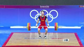 Men's Weightlifting 69Kg Final  - Singapore 2010 Youth Games