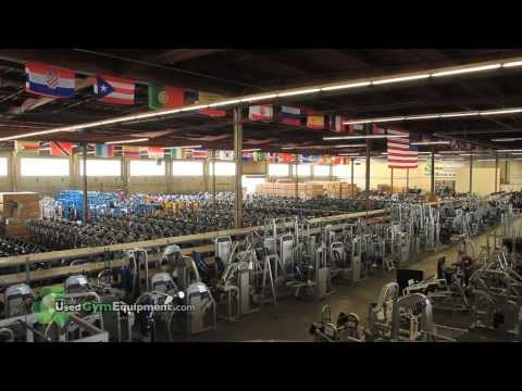 Take A Tour of the UsedGymEquipment.com Remanufacturing Factory!