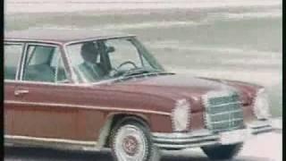 Historischer Werbefilm Mercedes Benz /8 1968 S/W