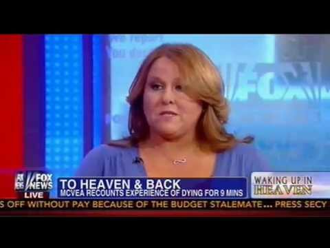 Gretchen Carlson Grills Woman Who 'Died' And 'Woke Up In Heaven': 'What Does God Look Like?'