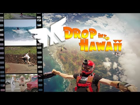 Drop into Hawaii | MuirSkate Longboard Shop