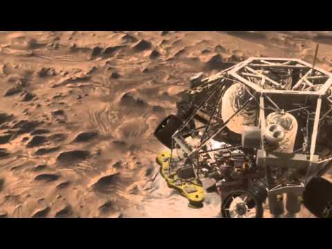 mars curiosity rover landing animation - photo #8