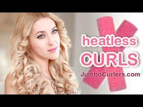 Overnight curls without heat tutorial - Hullámos fürtök hajsütővas nélkül