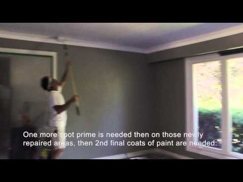 6 Steps on How to Flatten a Popcorn Ceiling Part 2