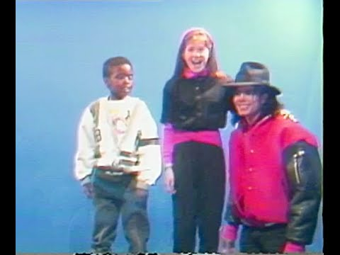 Michael Jackson 1990 at Capital Children's Museum, Washington DC