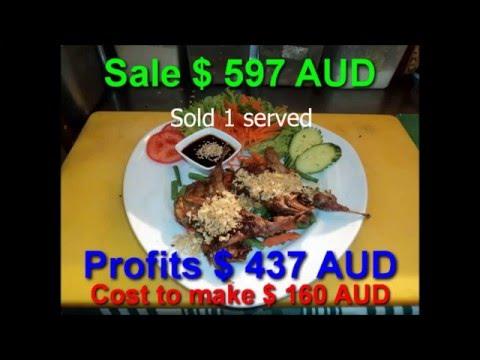 136 Garlic Quail: Cost$5AUD Sale $39.90 AUD