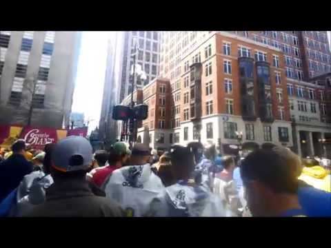 Boston Marathon 2014 in 15 Minutes - A Google Glass First-Person View