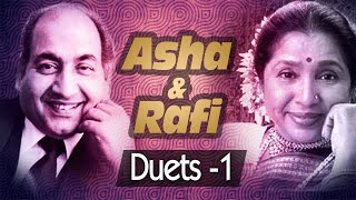 Mohd Rafi & Asha Bhosle Duets Video Songs Jukebox 1 - Old Bollywood Video Songs