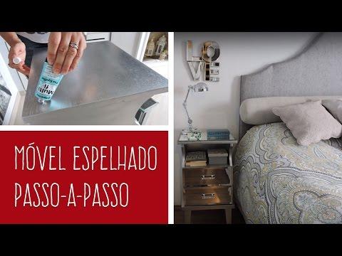 MULTIFIX FIXA ESPELHO - DIY: Móvel espelhado