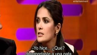 The Graham Norton Show (Jimmy Carr, Salma Hayek, Antonio Banderas and Coldplay)Part4-subtitulado