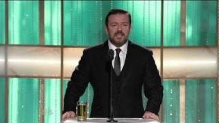 Golden Globes 2011 Ricky Gervais Opening Monologue