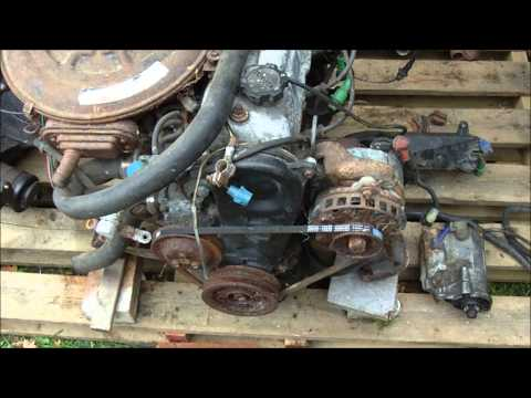 Toyota 3A Engine, start up after sitting for 10 years, prep work