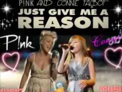 Amazing Duet- Connie Talbot and Pink ❤ Just give me a Reason!