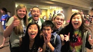 Screaming Fans at VidCon 2014