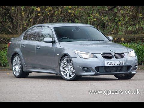 2007 07 BMW 5 SERIES 535d M Sport Step Auto for sale in Preston Lancashire
