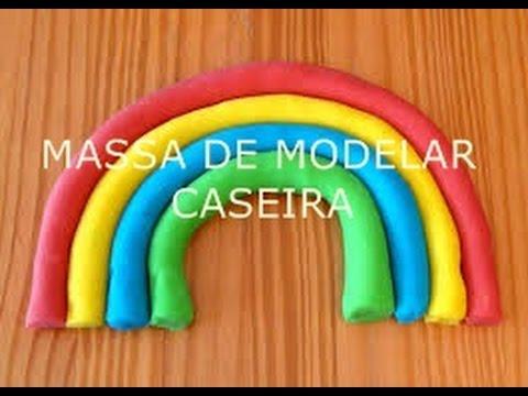 DIY: Como fazer MASSA DE MODELAR CASEIRA sem COZIMENTO