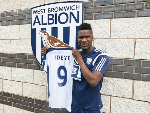 Brown Ideye - Welcome to West Bromwich Albion 2014