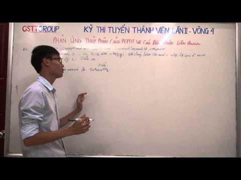 [HÓA] Phản ứng thủy phân peptit và các bài toán liên quan (part 2)