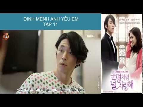 [Phim Hàn Quốc] Định mệnh anh yêu em Tập 11 part 2