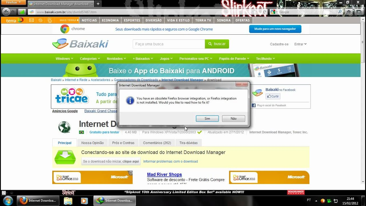 configurar internet download manager 6.07