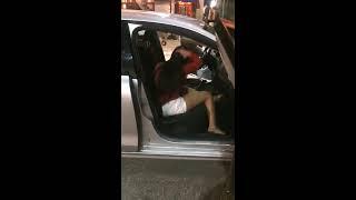 Shocking viral video: Drunk woman hitting, abusing Uber cab driver