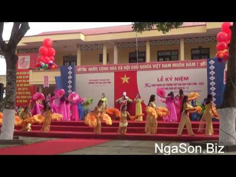 [NgaSon.Biz] Full clip Lễ kỉ niệm 30 năm thành lập trường THPT Mai Anh Tuấn