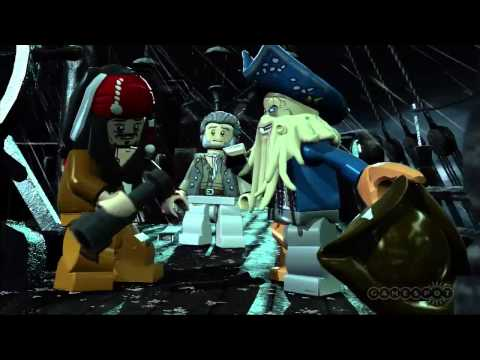 LEGO Pirates of the Caribbean: The Video Game Dead Man's Chest Trailer (PS3, Xbox 360, Wii)
