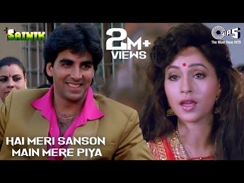 Hain Meri Sanson Men Mere Piya - Sainik - Akshay Kumar & Ashwini Bhave